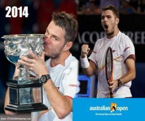 Rompicapo di Stanislas Wawrinka campione Open Australia 2014