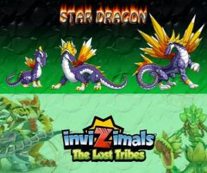 Rompicapo di Star Dragon, ultima evoluzione. Invizimals Le Tribù Scomparse. Il più prezioso invizimal drago