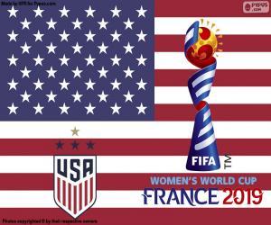 Rompicapo di Stati Uniti d'America, campioni del mondo di 2019