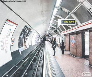 Rompicapo di Stazione della metropolitana di Londra