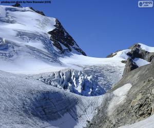 Rompicapo di Stein Glacier, Svizzera