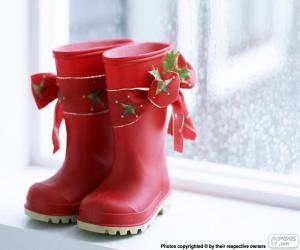 Rompicapo di Stivali di Natale