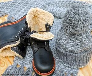 Rompicapo di Stivali invernali nero