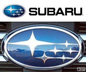 Rompicapo di Subaru logo, marchio automobilistico giapponese