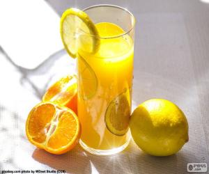 Rompicapo di Succo d'arancia e limone
