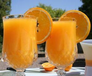 Rompicapo di Succo d'arancia