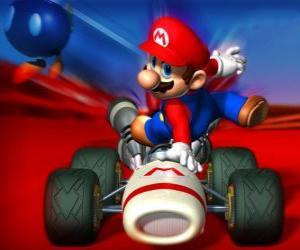 Rompicapo di Super Mario Kart è un gioco di corse