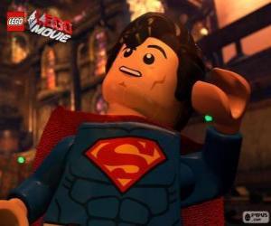 Rompicapo di Superman, un supereroe dal film Lego