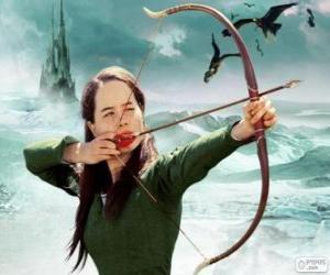 Rompicapo di Susan Pevensie con l'arco