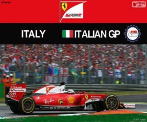 Rompicapo di S.Vettel, G.P Italia 2016