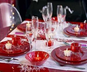 Rompicapo di Tabella elaborata per Natale