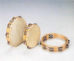 Rompicapo di Tamburello, strumento a percussione popolare e universale