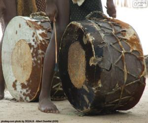 Rompicapo di Tamburi africani