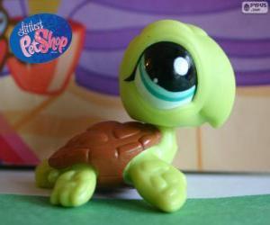 Rompicapo di Tartaruga da PetShop Littlest