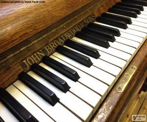 Rompicapo di Tasti di pianoforte classici