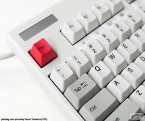 Rompicapo di Tastiera di un computer
