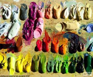 Rompicapo di Tavolozza di colori