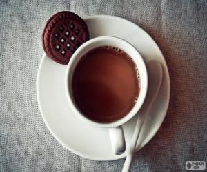 Rompicapo di Tazza di cioccolata calda