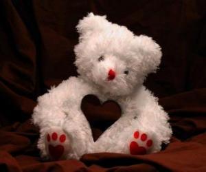 Rompicapo di Teddy bear per San Valentino