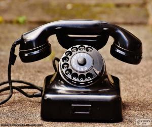 Rompicapo di Telefono antico