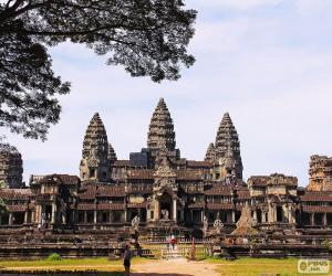 Rompicapo di Tempio di Angkor Wat, Cambogia