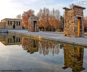 Rompicapo di Tempio di Debod, Madrid