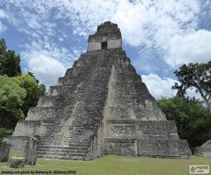 Rompicapo di Tempio I di Tikal, Guatemala