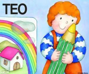 Rompicapo di Teo e colori
