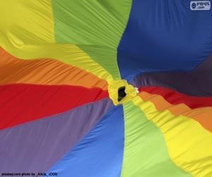Rompicapo di Tessuto multicolore