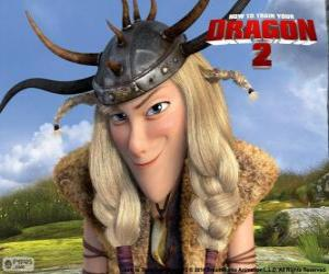 Rompicapo di Testa Bruta Thorston, Dragon Trainer 2