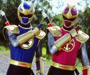 Rompicapo di Thunder Ranger è un duo Crimson ho Navy