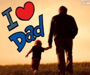Rompicapo di Ti amo papà