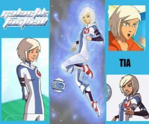 Rompicapo di Tia è la giocatrice numero 4 della squadra Snow Kids, è l'unica squadra che ha inizialmente lo spirito