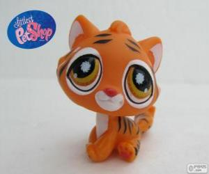 Rompicapo di Tigre da PetShop Littlest