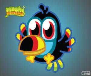 Rompicapo di Tiki è una Moshlings, il Tucano. Serie di uccelli