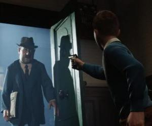 Rompicapo di Tintin affronta Allan