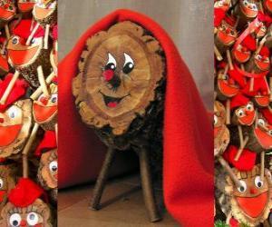 Rompicapo di Tió de Nadal (Tronco di Natale), una tradizione catalana, occitana e delle Alto Aragon