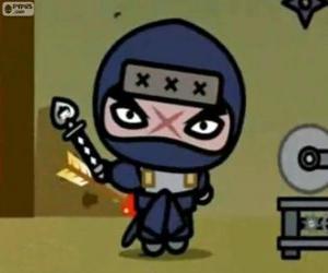 Rompicapo di Tobe, il villain principale da Pucca che cerca sempre di vendetta su Garu