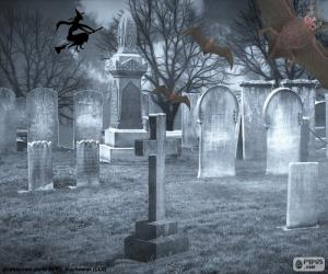 Rompicapo di Tombe del cimitero, Halloween