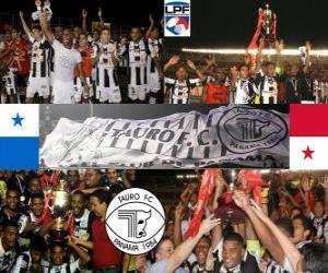 Rompicapo di Toro F. C Campione Apertura 2010 (Panama)