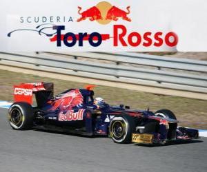 Rompicapo di Toro Rosso STR7 - 2012 -