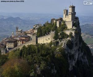 Rompicapo di Torre Guaita, San Marino