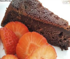 Rompicapo di Torta al cioccolato