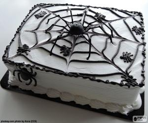 Rompicapo di Torta di Halloween
