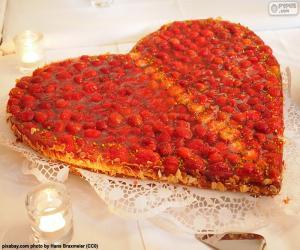Rompicapo di Torta di San Valentino