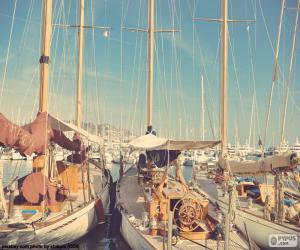 Rompicapo di Tre barche a vela