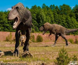 Rompicapo di Tre dinosauri