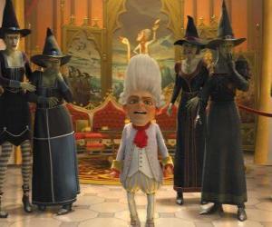 Rompicapo di Tremotino è il re con una strega ejérctio vostri ordini