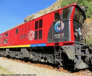 Rompicapo di Treno delle Ande dell'Ecuador