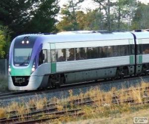Rompicapo di Treno passeggeri VLocity, Australia